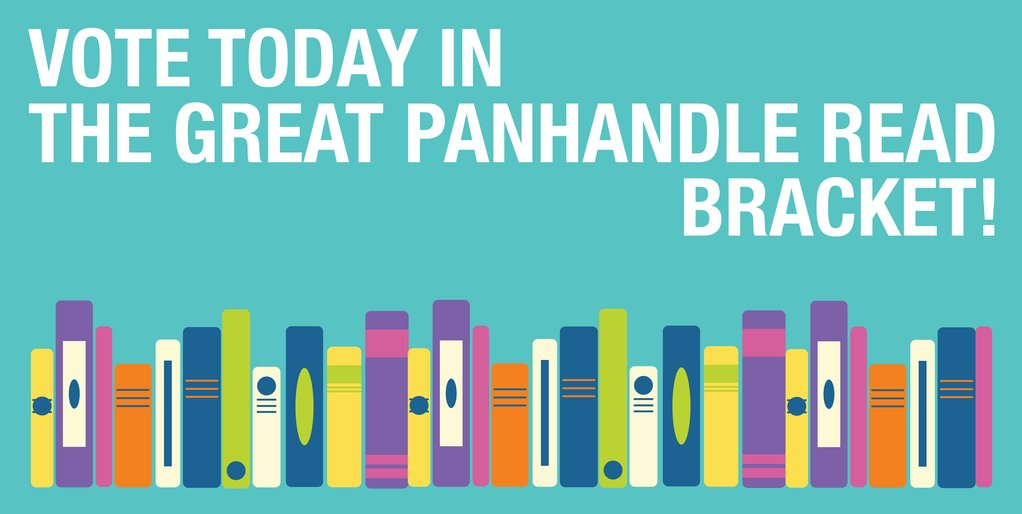 Vote today for The Great Panhandle Read