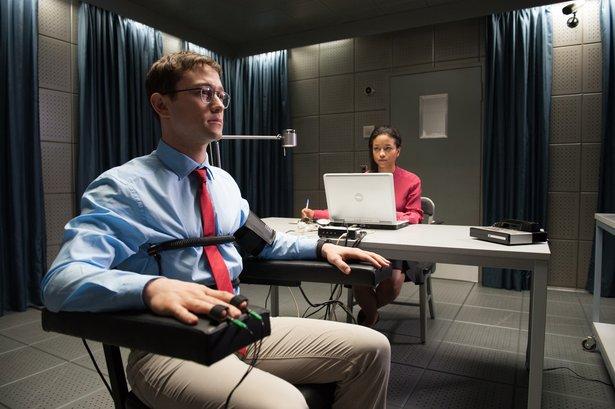 "Joseph Gordon-Levitt stars as Edward Snowden in Oliver Stone's ""Snowden."""