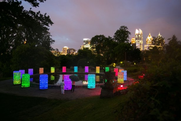 Light: Bruce Munro on PBA30 Atlanta's PBS Station