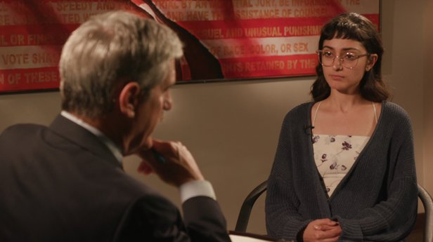 Neda Samimi-Gomez in an interview with Rocky Mountain PBS