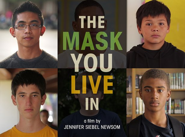 The Mask You Live In Poster