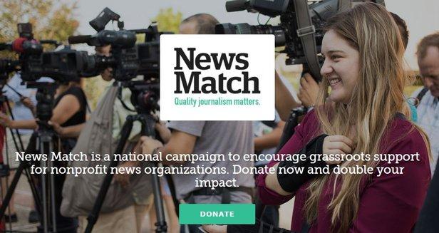 newsmatch.org hero image