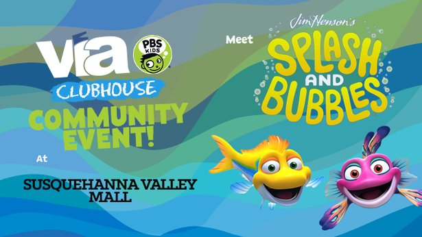 Meet Splash & Bubbles at the Susquehanna Valley Mall