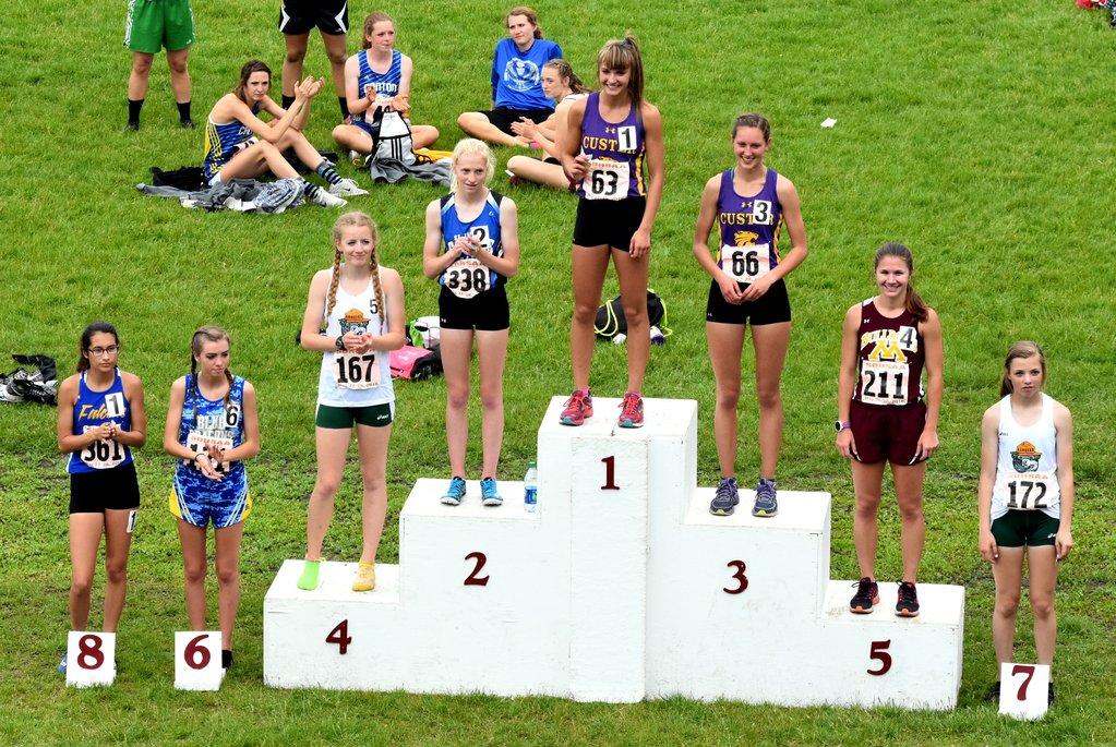 2016 Class A Girls 800m Run