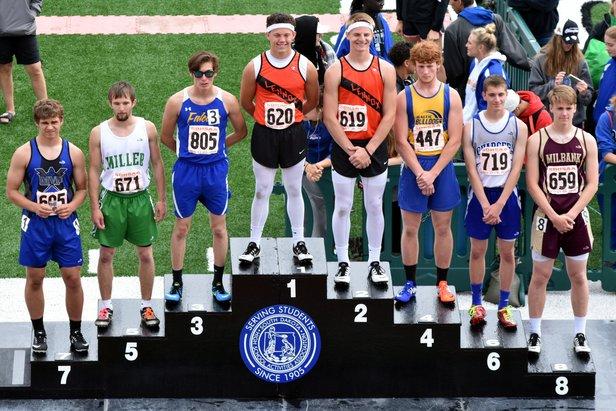 2016 Class A Boys 110m Hurdles