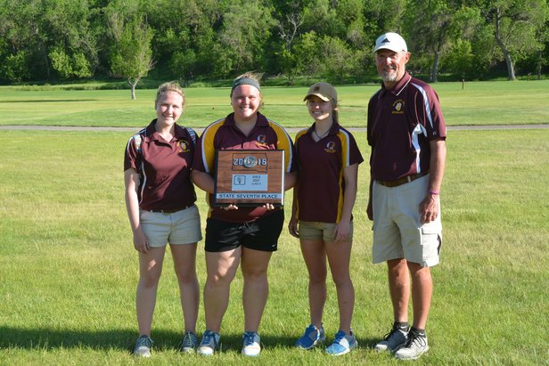 2016 Girls B 7th Place Webster Area
