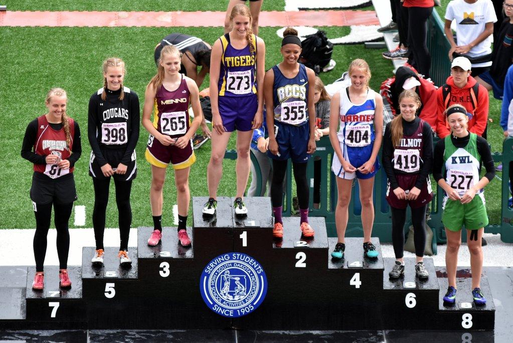 2016 Class B Girls 100m Hurdles