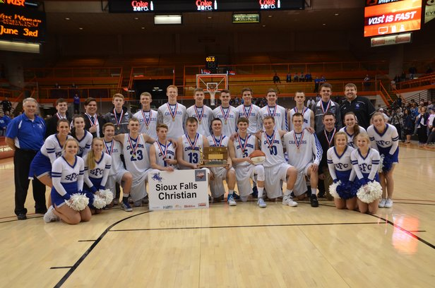 2016 Class A Boys Basketball Champions SF Christian.JPG