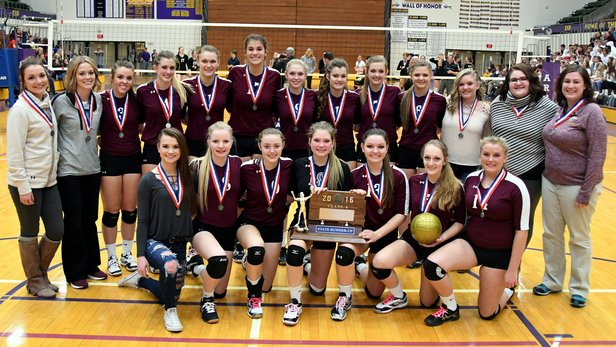 2016 Class A Volleyball 2nd Place - Madison