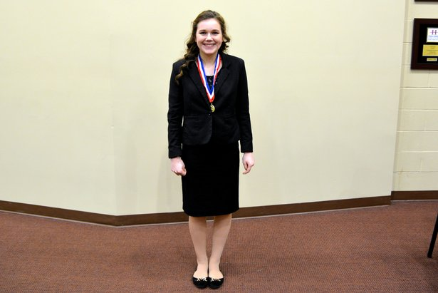 2016 Class AA Oral Interp - Serious Reading Reanne Rohrer