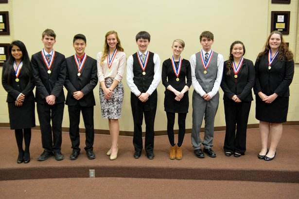 2016 Class A Oral Interp - Poetry Reading