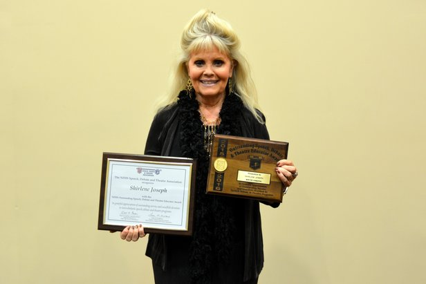 NFHS Outstanding Speech, Debate & Theatre Educator Award - Shirlene Joseph