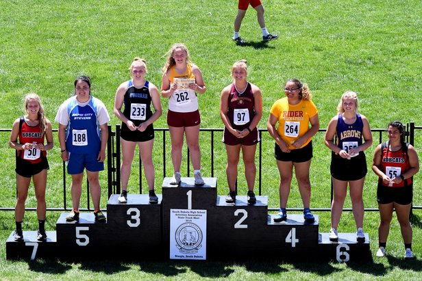 2018 AA State Track Girls Discus