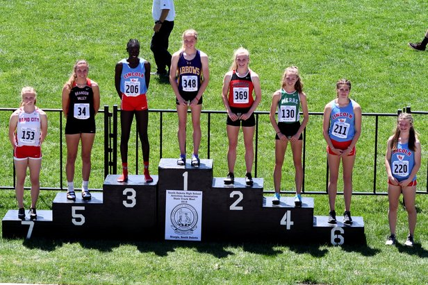 2018 AA State Track Girls Long Jump
