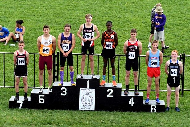 2018 Class AA State Track Boys 800m Run
