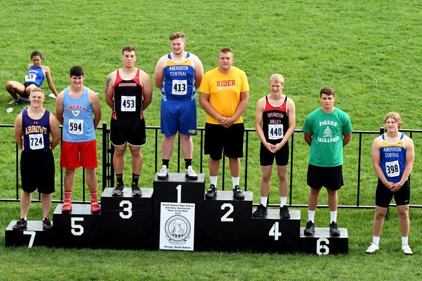 2018 Class AA State Track Boys Discus