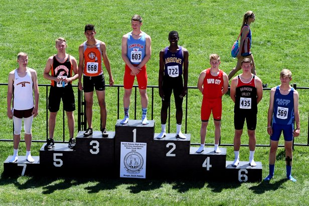 2018 Class AA State Track Boys High Jump
