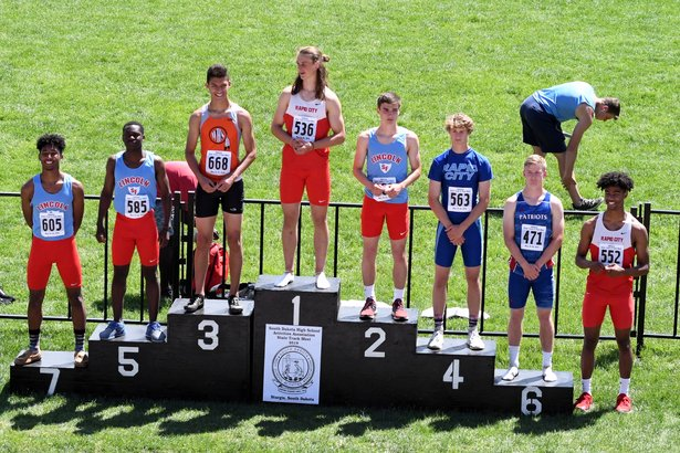 2018 Class AA State Track Boys Long Jump