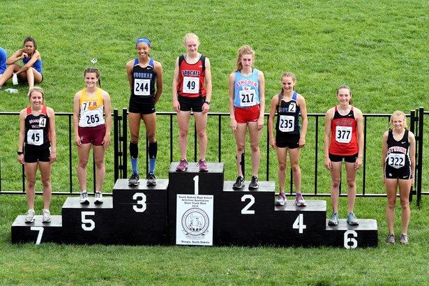 2018 Class AA State Track Girls 800m Run
