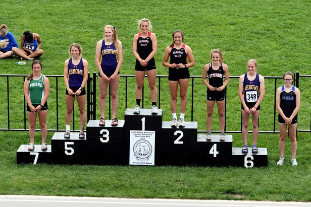 2018 Class AA State Track Girls Pole Vault