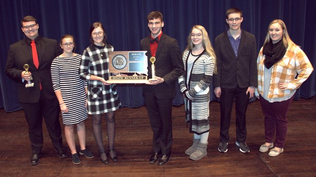 2019 State Debate Class A 2nd Place Milbank