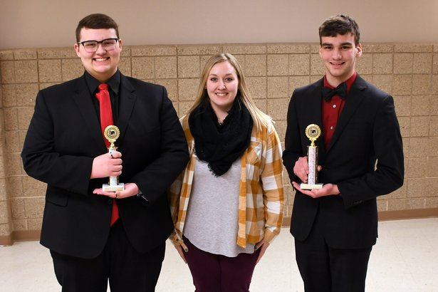 2019 State Debate Class A Public Forum - 1st Place Lars Isaac Andersen and Nathan Loutsch Milbank HS