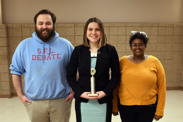 2019 State Debate Class AA US Extemp - 1st Place Katie Osmundson Sioux Falls Lincoln