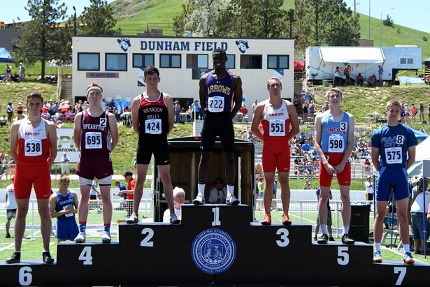 2018 State Track Class AA Boys 300m Hurdles