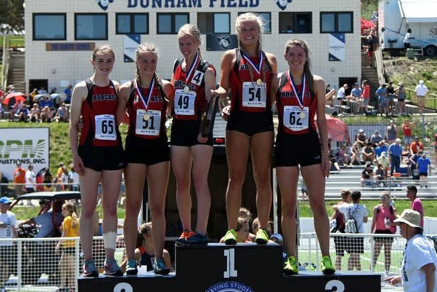 2018 State Track Class AA Girls Medley Brookings
