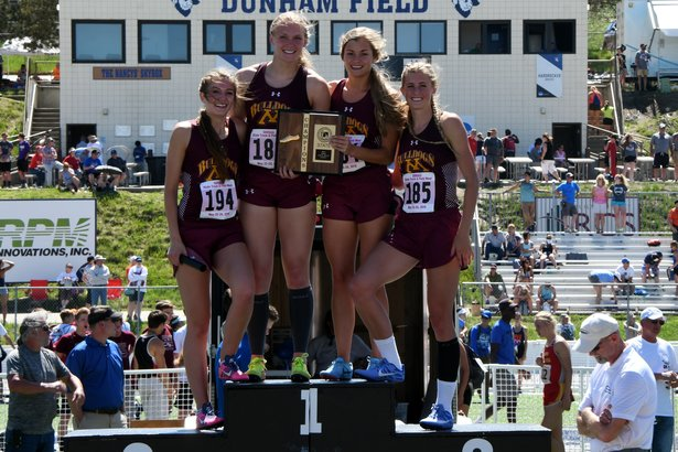 2018 State Track Class A Girls 1600m Relay Madison