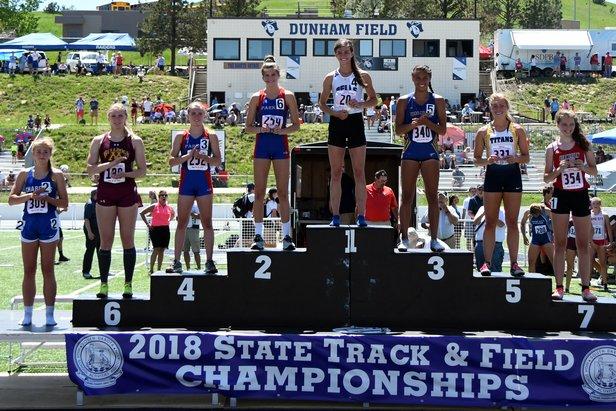 2018 State Track Class A Girls 200m Dash
