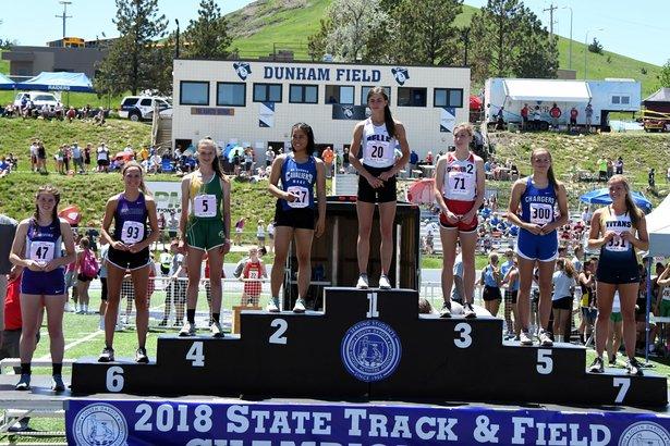 2018 State Track Class A Girls Long Jump