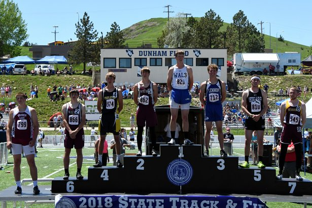 2018 State Track Class B Boys 300m Hurdles