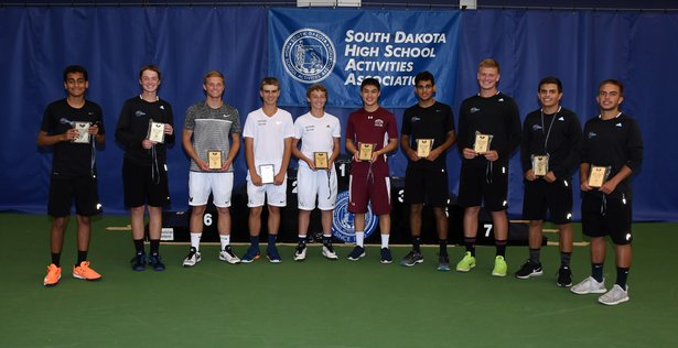 2017 Boys Tennis All-Tournament Team