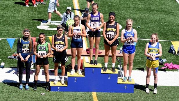 2017 Class A State Track Girls Long Jump