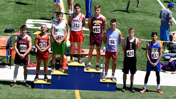 2017 Class A State Track Boys Long Jump