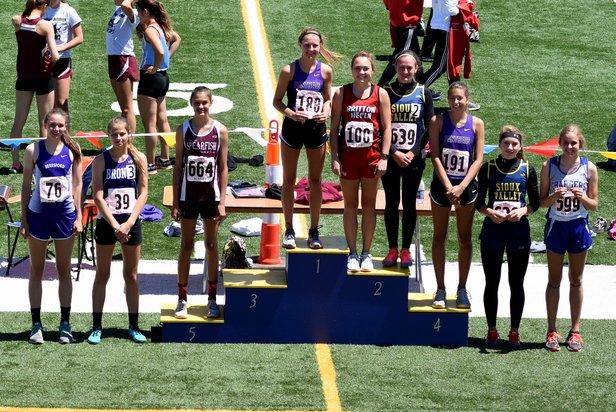 2017 Class A State Track Girls High Jump