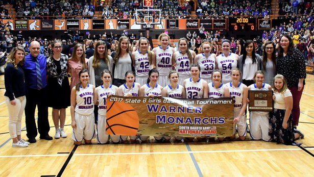 2017 State Class B GBB 4th Place - Warner