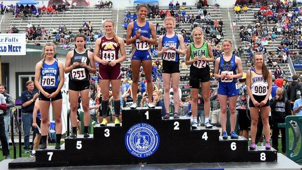 Class A Girls 400m dash