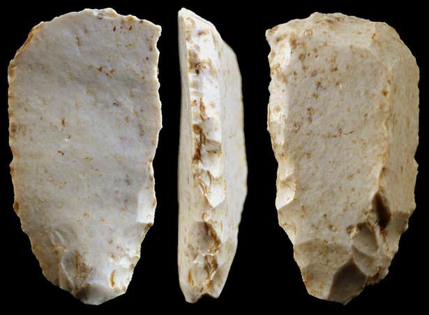 Bostrom Site: Clovis Scraper