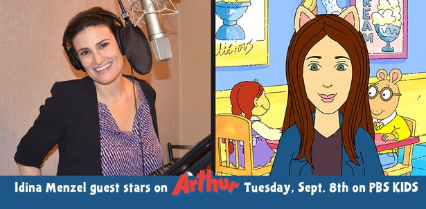 Idina Menzel on Arthur