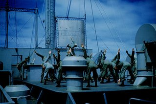Exercise aboard the USS Consolation.