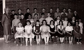 Michele's class photo.