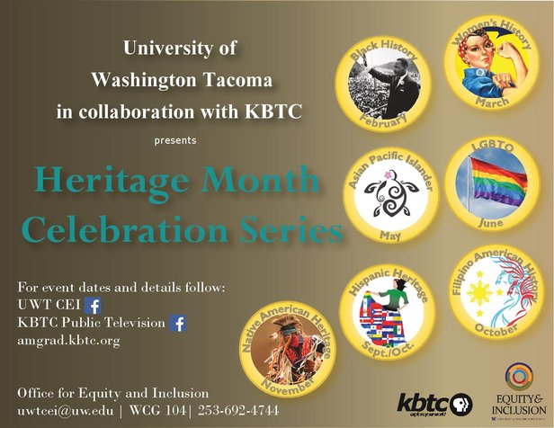 KBTC and UWT Heritage Month Celebration Series