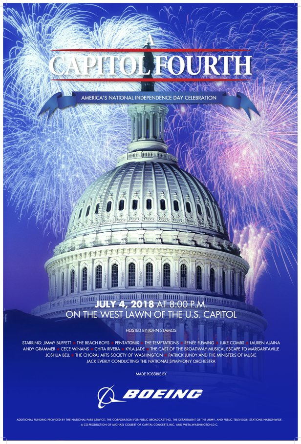 A Capitol Fourth 2018 Poster
