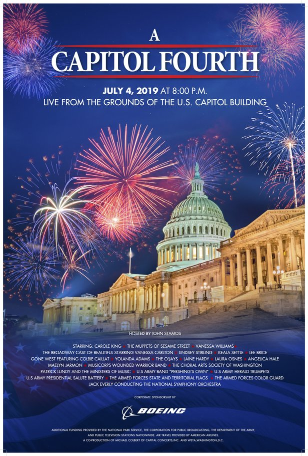 A Capitol Fourth 2019 Poster