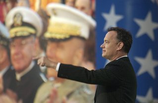 Tom Hanks paying tribute to veterans on the National Memorial Day Concert.