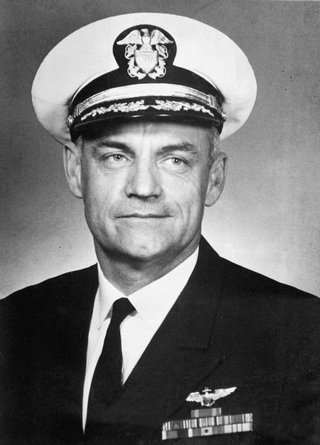 Navy Commander Donald Richard Hubbs
