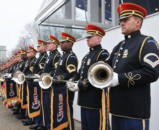 The U.S. Army Herald Trumpets