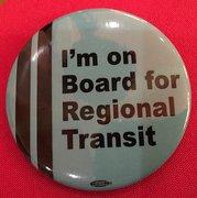 I'm on board for Regional Transit